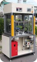 153 Air Tightness Detection Marking Workstation Multi Ways Valve Leak Detection