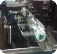 87 Filter Paper Ultrasonic Automatic Welding Machine Manual Feeding of Filter Paper