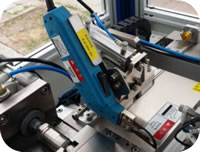 91 Filter Paper Ultrasonic Automatic Welding Machine Diaphragm Slitting