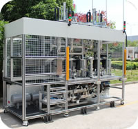 98 National VI Canister Assembly and Testing Line Pressure Loss Leak Detection
