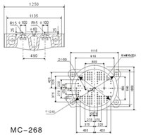 Molds Installation Sizes MC268