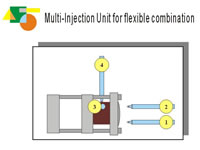Multi Injection Unit For Flexible Combination