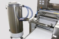 Blister Packing Machine DPXB-B, Flashes Vacuum Absorber