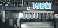 Automatic Plastic Injection Stretch Blow Molding Machine, ISBM Machine, 4 Stations ISBM Mold