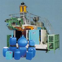 Automatic Plastics Extrusion Blow Molding (EBM) Machine, 230L, Twin L Rings, A