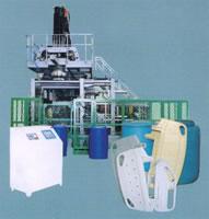 Automatic Plastics Extrusion Blow Molding (EBM) Machine, 230L, Twin L Rings, B