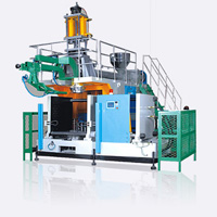 Storage Type Plastics Extrusion Blow Molding (EBM) Machine SJY100S, For 125L Bottles or Containers (20L-125L)