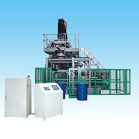 Storage Type Plastics Extrusion Blow Molding (EBM) Machine SJY120S, For 230L Bottles or Containers