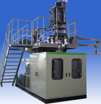Storage Type Plastics Extrusion Blow Molding (EBM) Machine SJY90S, For 35L Bottles or Containers (20L-125L)
