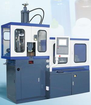 Automatic One Station Plastic Injection Blow Moldnig (IBM) Machine WB07-5T, WB2-1BT