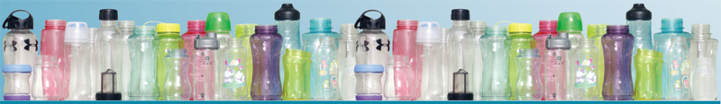 Bottles Made By Automatic One Station Plastic Injection Blow Moldnig (IBM) Machine, Model WB2PC-1T, WB2PC-2T