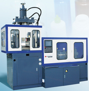 Automatic One Station Plastic Injection Blow Moldnig (IBM) Machine, Model WB2PC-1T, WB2PC-2T