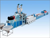 One Step WPC Thick Sheet Equipment