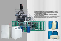 Plastic Extrusion Blow Molding (EBM) Machine, Model SJY120S-1