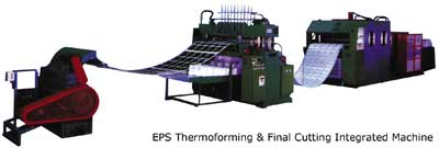 Solution #2: EPS Thermoforming Final Cutting Integrated Machine