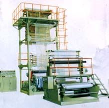 Thermal Shrinkage Film Blowing Machine Model SJ-65